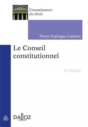 Le conseil constitutionnel - dalloz - 9782247197071 -