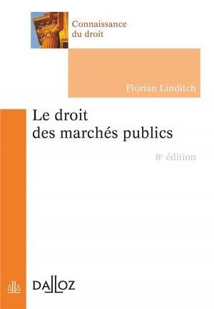 Le droit des marchés publics - dalloz - 9782247204182 -