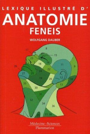 Lexique illustré d'anatomie Feneis - lavoisier msp - 9782257122506 -