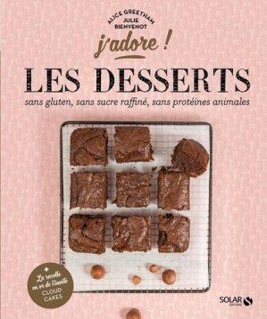Les desserts santé - j'adore - solar  - 9782263147845 -