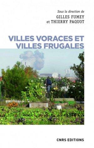 Les villes qui mangent. Alimentation et urbanisation - cnrs - 9782271124654 -
