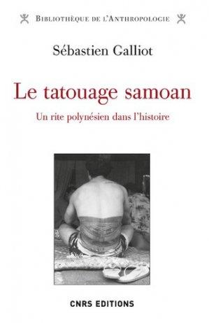Le tatouage samoan - cnrs - 9782271126399 -