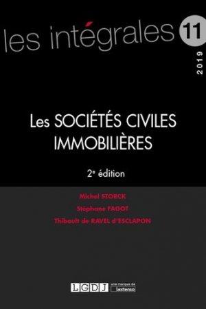 Les sociétés civiles immobilières. Edition 2019 - LGDJ - 9782275063751 -