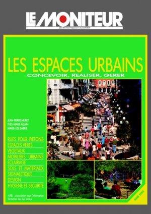 Les espaces urbains - le moniteur - 9782281121308 -