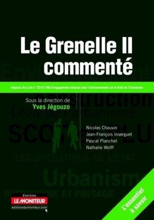 Le Grenelle II commenté - groupe moniteur - 9782281128420 -