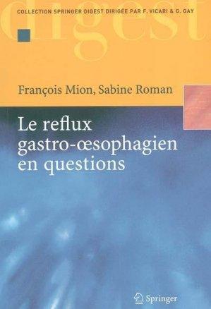 Le reflux gastro-oesophagien en questions - springer - 9782287210273 -