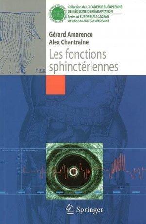 Les fonctions sphinctériennes - springer - 9782287251672 -