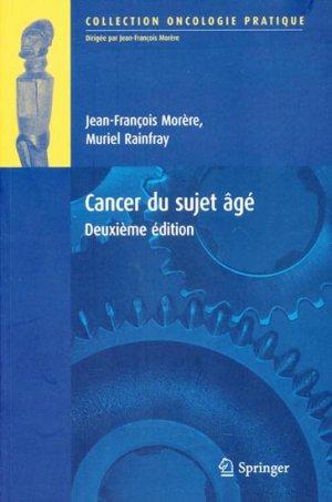 Le cancer du sujet âgé - springer - 9782287252099