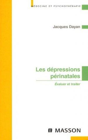 Les dépressions périnatales - elsevier / masson - 9782294008665 - majbook ème édition, majbook 1ère édition, livre ecn major, livre ecn, fiche ecn