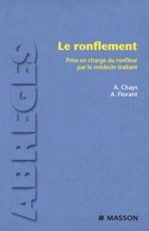 Le ronflement - elsevier / masson - 9782294020186 -