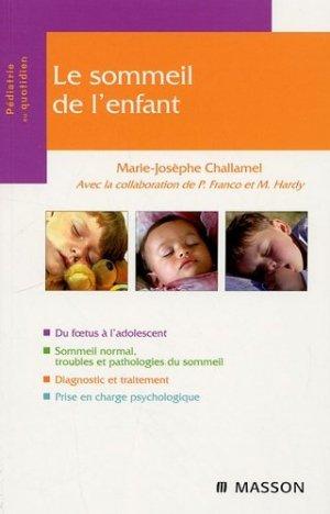 Le sommeil de l'enfant - elsevier / masson - 9782294705885