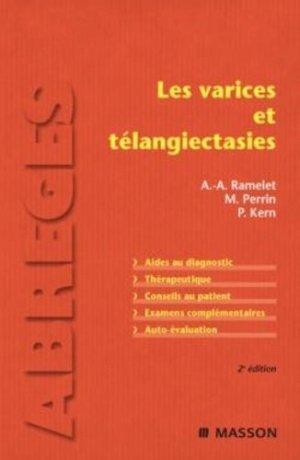Les varices et télangiectasies - elsevier / masson - 9782294709869 -
