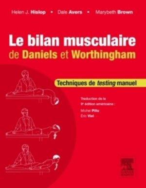 Le bilan musculaire de Daniels et Worthingham - elsevier / masson - 9782294739941