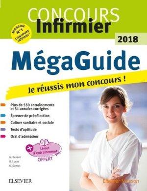 Le Méga Guide 2018 Concours infirmier - elsevier / masson - 9782294755859 - livre médecine 2020, livres médicaux 2021, livres médicaux 2020, livre de médecine 2021