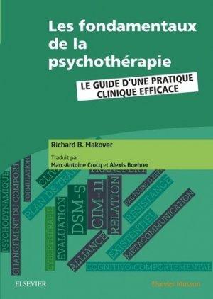 Les fondamentaux de la psychothérapie - elsevier / masson - 9782294761683 -