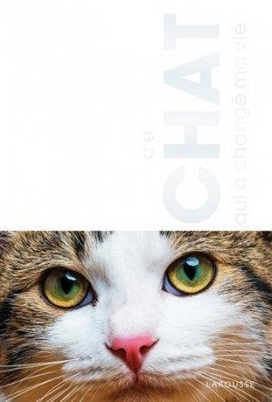 Le chat qui a changé ma vie - larousse - 9782295006639 -