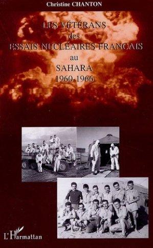 Les vétérans des essais nucléaires français au Sahara - l'harmattan - 9782296007666 -