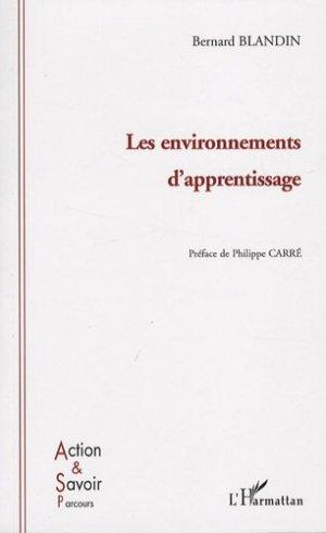 Les environnements d'apprentissage - l'harmattan - 9782296045361 -