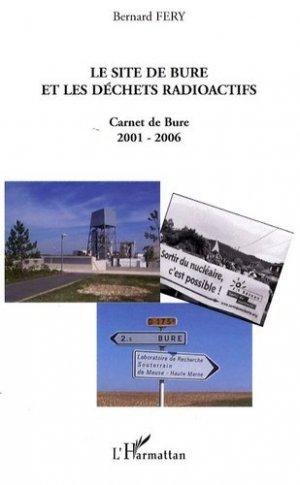 Le site de Bure et les déchets radioactifs - l'harmattan - 9782296062948 -