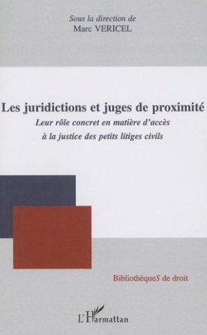 Les juridictions et juges de proximité. Leur rôle concret en matière d'accès à la justice des petits litiges civils - l'harmattan - 9782296091764 - https://fr.calameo.com/read/000015856623a0ee0b361