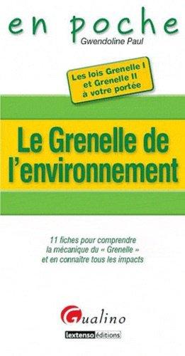 Le Grenelle de l'environnement - gualino - 9782297016193 -