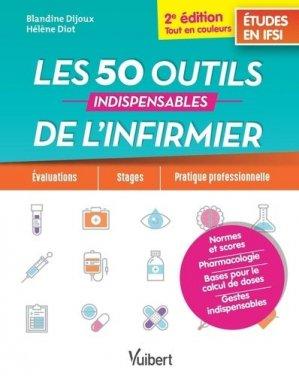Les 50 outils de l'infirmier - estem / vuibert - 9782311660326 -