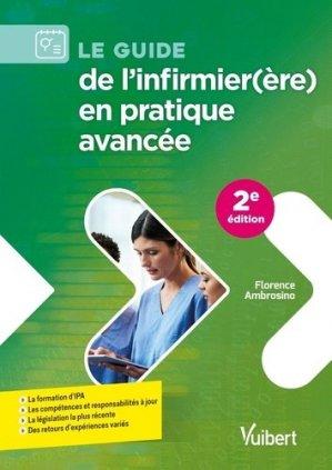 Le guide de l'infirmier(ère) en pratique avancée - Vuibert - 9782311662115 -