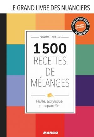 Le grand livre des nuanciers - mango - 9782317016493 -