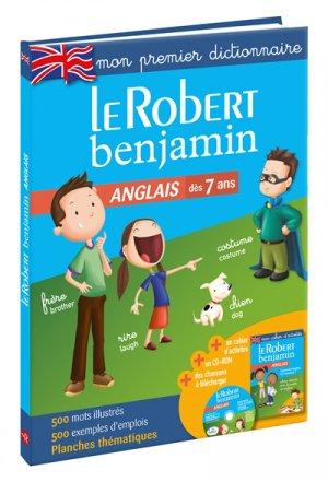 Le Robert benjamin Anglais - le robert - 9782321013310 -