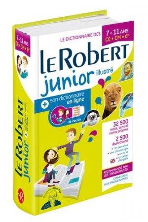 Le Robert junior illustré et son dictionnaire en ligne - Le Robert - 9782321013907