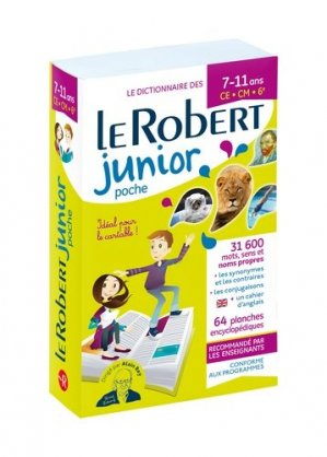 Le Robert junior poche - Le Robert - 9782321013914 -