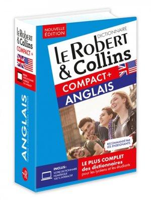 Le Robert & Collins Compact + anglais - Le Robert - 9782321013969 -
