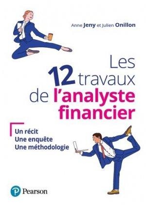 Les 12 travaux de l'analyste financier - pearson - 9782326002821 -