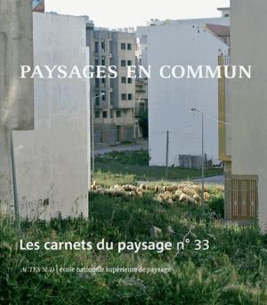 Les carnets du paysage n  33 - actes sud - 9782330102661 -