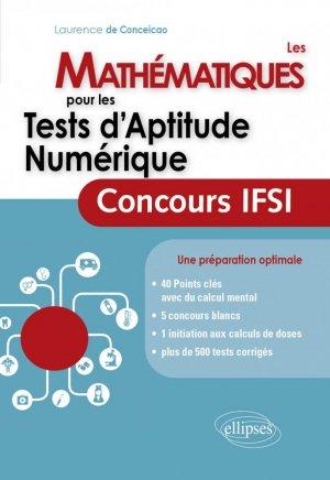 Les mathématiques pour les tests d'aptitude numerique - ellipses - 9782340003385 -