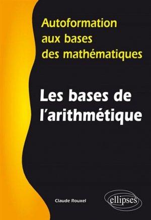 Les bases de l'arithmétique - ellipses - 9782340008236 -