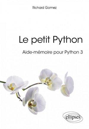 Le petit Python - Aide-mémoire pour Python 3-ellipses-9782340017863