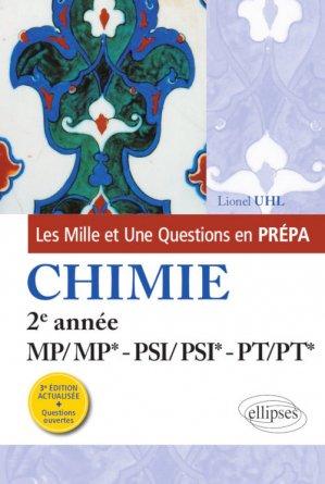 Chimie 2e année MP/MP*-PSI/PSI*-PT/PT* - ellipses - 9782340035027 -