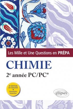 Les 1001 questions de la chimie en prépa - ellipses - 9782340035034