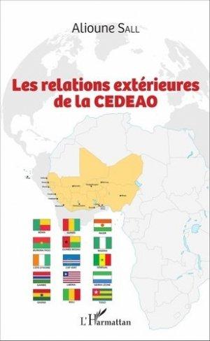 Les relations extérieures de la CEDEAO - l'harmattan - 9782343108568 -
