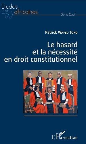 Le hasard et la nécessité en droit constitutionnel - l'harmattan - 9782343122281 -