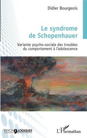 Le syndrome de Schopenhauer - l'harmattan - 9782343143002 -