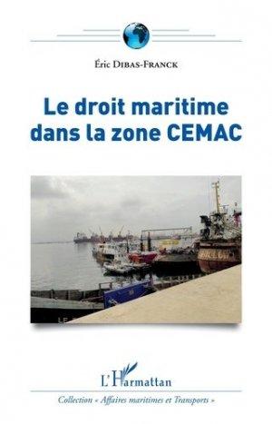 Le droit maritime dans la zone CEMAC - l'harmattan - 9782343149486 -
