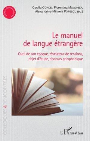 le manuel de langue étrangère - l'harmattan - 9782343162904 -