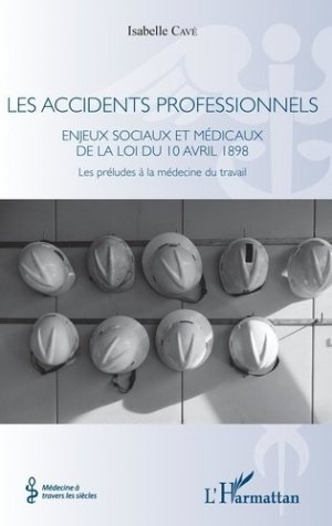 Les accidents professionnels - l'harmattan - 9782343163550 -