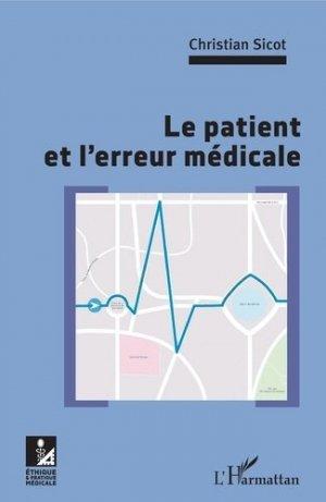 Le patient et l'erreur médicale - l'harmattan - 9782343168180 -