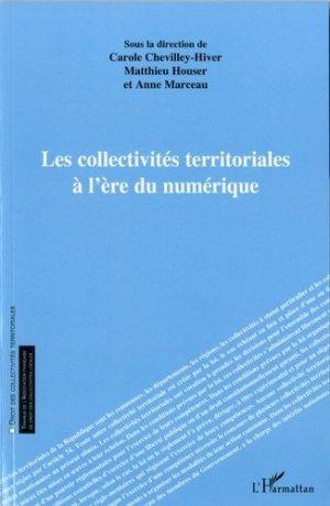 Les collectivités territoriales à l'ère du numérique - l'harmattan - 9782343178653 -