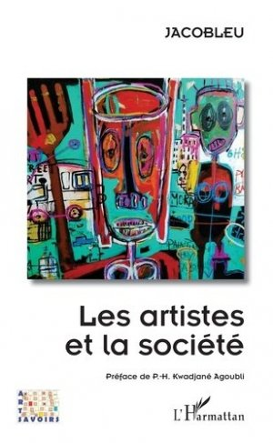 Les artistes et la société - l'harmattan - 9782343183602 -