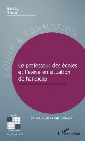 Le professeur des écoles et l'élève en situation de handicap - l'harmattan - 9782343193168 -