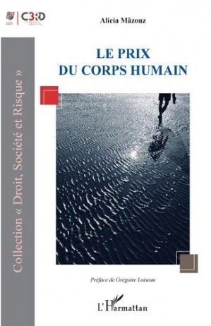 Le prix du corps humain - l'harmattan - 9782343198033 -
